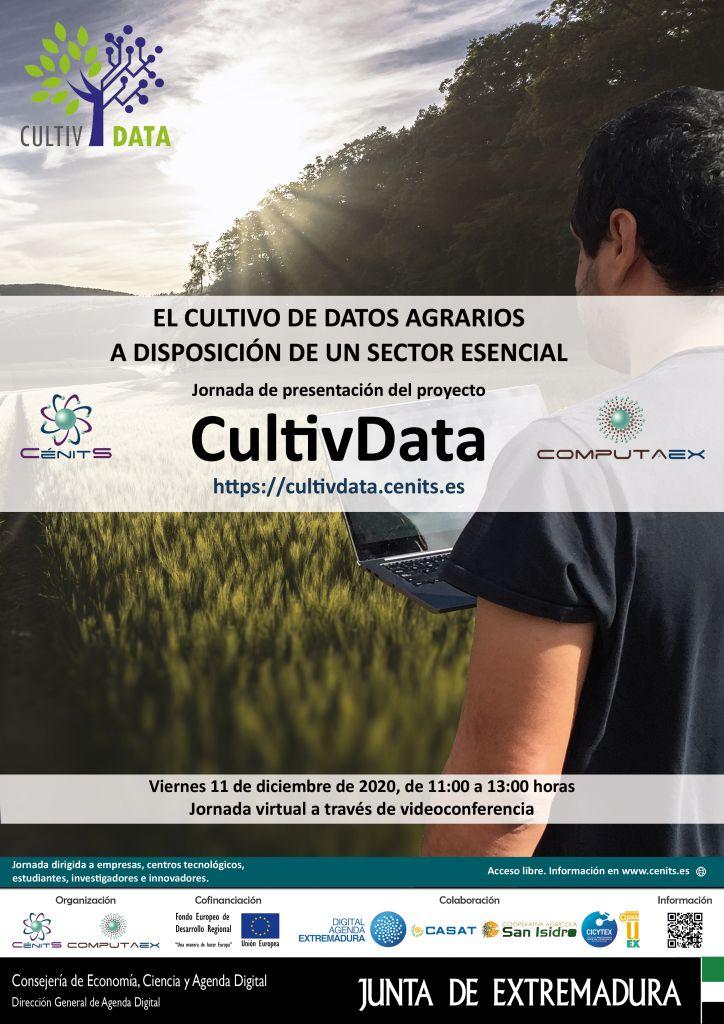 Jornada de presentación de resultados del proyecto CultivData: El cultivo de datos agrarios a disposición de un sector esencial.